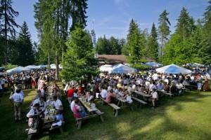 Waldfeste sind die Sommer Event s